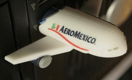 AeroMexico USB Drive