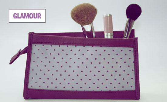 Glamour Magazine Makeup Bag