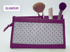 Glamour Magazine Makeup Bag